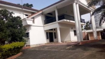 Amazingly Finished, Uniquely Built & Serviced 4 Bedroom Detached Duplex with 2 Rooms Bq & Guest Chalet, Off Shehu Shagari Way, Near British Council, Maitama District, Abuja, Detached Duplex for Rent