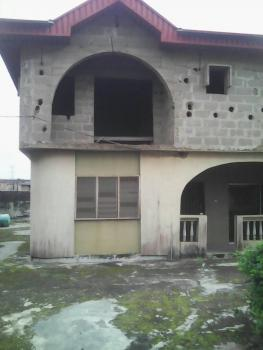 Upstairs of Five Bedroom Up and Four Bedroom Down, Shyllon Estate, Kola Alagbado, Alagbado, Ifako-ijaiye, Lagos, Block of Flats for Sale