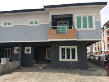 Serviced 4 Bedroom Duplex and a Room Bq, By 3rd Round About, Lekki Phase 1, Lekki, Lagos, Semi-detached Duplex for Rent