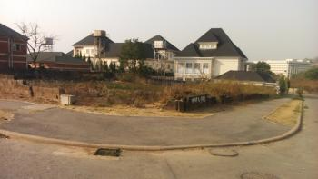 Strategically & Well Located Fenced , Corner Piece & Gated Residential Build & Live Land, Near Regent School Close to Nia Head Office By Asokoro- Guzape Boundary, Guzape District, Abuja, Residential Land for Sale