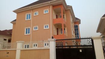 New and Massive 3 Bedroom Apartment with Mini-flat Boys Quarters, After Kado Fish Market Road, Life Camp, Gwarinpa, Abuja, Flat for Rent