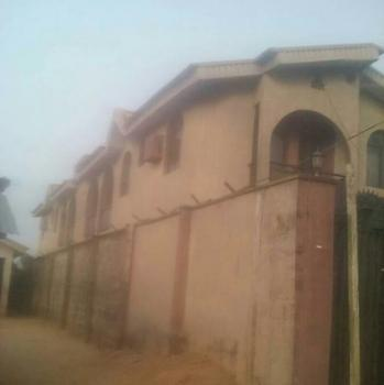 Block of 4 Nos 2 Bedroom Flats in Egan, Igando Is Available for Sale, Joseph Adegboye Street Off Shoga St Egan Igando, Igando, Ikotun, Lagos, Block of Flats for Sale