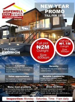 Hopewell Park Estate, Iberekodo, Ibeju Lekki, Lagos, Residential Land for Sale