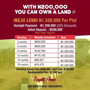 Land, Ibeju Lekki, Lagos, Land for Sale