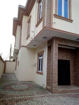 a Newly Built 4 Bedroom Duplex with Bq, Gra, Omole Phase 2, Ikeja, Lagos, Semi-detached Duplex for Rent