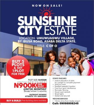 Buy Five Plots Get One Plot Free - Sunshine City Estate Asaba, Sunshine City Estate, Asaba, Delta, Mixed-use Land for Sale