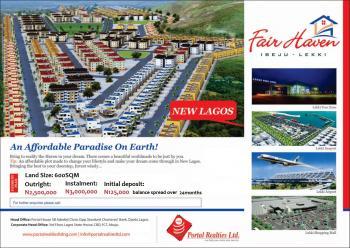 Fair Haven, Lagos - Epe Expressway, 20mins Drive From Sangotedo, Eleko, Ibeju Lekki, Lagos, Mixed-use Land for Sale