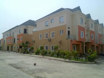 a Tastefully Finished, Serviced & Brand New 4 Bedroom Terrace Duplex with 1 Room Bq, Apo, Abuja, Terraced Duplex for Rent