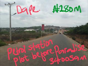 3,500sqm for Fuel Station with C of O, Tarred, Fuel Station Plot on Dape Tarred Road 3,500sqm, Dape, Abuja, Commercial Land for Sale