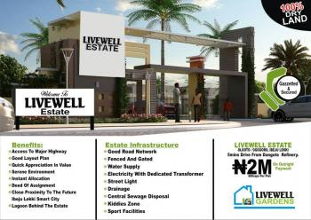 Livewell Estate, Olooto,  5min Drive From Dangote Refinery, Ogogoro, Ibeju Lekki, Lagos, Residential Land for Sale