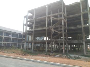 Uncompleted Office Complex/plaza Structure Comprising Four Floors, C of O Title, Behind Vio, Wuye, Abuja, Plaza / Complex / Mall for Sale