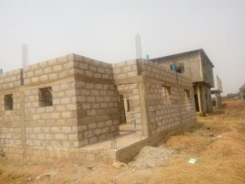 4 Bedroom Duplex with Space for Bq Ongoing Construction at Dpc Level, River Park Estate, Off Airport Road, Lugbe District, Abuja, House for Sale