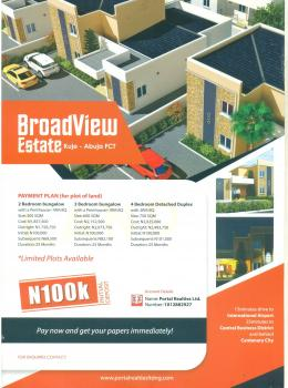 Broadview Estate, International Airport,  Behind Centenary City, Central Business District, Abuja, Residential Land for Sale