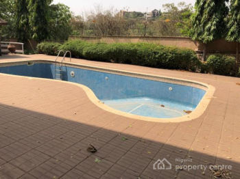 Top Notch N Tastefully Serviced 6 Bedroom Ambassadorial Duplex with 2 Rooms Guest Chalet, Pool, Massive Compound for 18 Car, Maitama District, Abuja, Detached Duplex for Rent