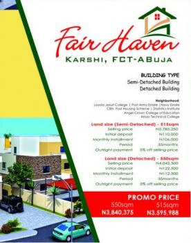 Fair Haven, Karshi, Abuja, Residential Land for Sale