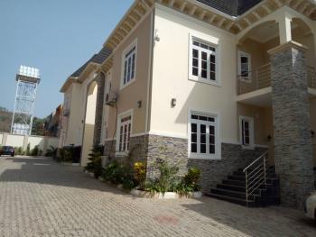 Super Finished 4 Units of 4 Bedroom Terrace Duplex with a Servant Quarter, El Rufia Street, Guzape District, Abuja, Terraced Duplex for Rent