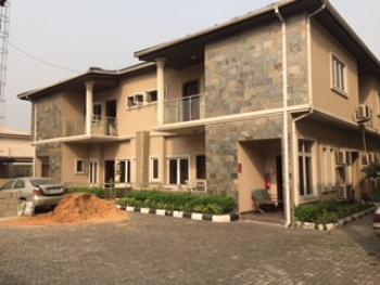 Tastefully Finished 3 Bedroom Terrace with a Room Bq, Osborne, Ikoyi, Lagos, Terraced Duplex for Rent