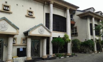 Nice 4 Bedrooms Terrace + 1 Bq, Osborne Phase 1, Osborne, Ikoyi, Lagos, Terraced Duplex for Rent