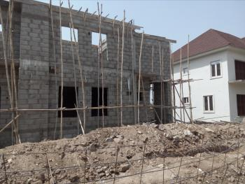 Carcass 4 Bedroom, Behind Citec, Karmo, Abuja, Detached Duplex for Sale