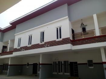 4 Bedroom Terrace Duplex House with 24hrs Light, Near Chevron, By Orchid Hotel Road, Lafiaji, Lekki, Lagos, Terraced Duplex for Sale