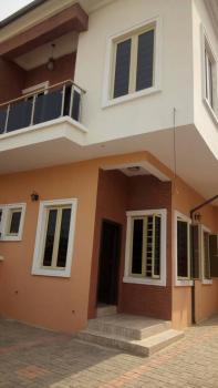 a Brand- New  Tastefully Built 4 Bedroom Duplex Plus Bq, Off Domino Piza, Agungi, Lekki, Lagos, Semi-detached Duplex for Sale