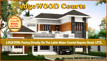 Edgewood Courts Promo Sales, Directly on The Lekki Major Coastal Express Road, 4 Minutes Before The Lekki Free Trade Zone, Lekki Expressway, Lekki, Lagos, Mixed-use Land for Sale