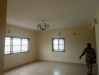 Serviced 3 Bedroom Apartment with a Bq and Fitted Kitchen Gym, Pool and Long Tennis Court 24hrs Power Light, Lekki Phase 1, Lekki, Lagos, Flat for Rent