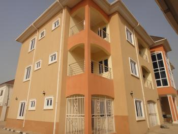 Newly Finished 6 Nos Exquisite 3 Bedroom Flat, Paved Interlocked, Lifecamp Extension, Life Camp, Gwarinpa, Abuja, Flat for Rent