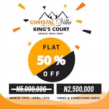 Christal Villa Kingscourt Easter Promo with a 50% Slash, Apakin, Ibeju Lekki, Lagos, Mixed-use Land for Sale