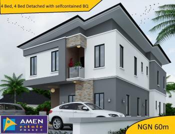 4 Bedrooms, 4 Bathrooms, Detached Duplex with Bq and 12 Months Installment Payment, Amen Estate 2, Eleko Beach Road, Off Lekki-epe Express Road, Eleko, Ibeju Lekki, Lagos, Semi-detached Bungalow for Sale