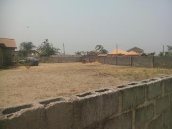 a Dry Plot of Land with a Dwarf Fence, Cele Imedu, Awoyaya, Awoyaya, Ibeju Lekki, Lagos, Mixed-use Land for Sale