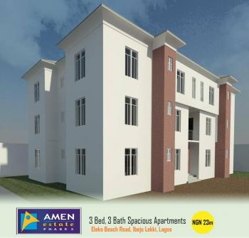 3 Bedroom Block of Flats, Eleko, Ibeju Lekki, Lagos, Flat for Sale