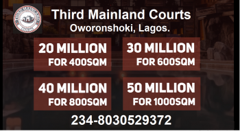 Waterfront 1000sqm Plots of Land at Third Mainland Courts. Installment Available, Thirdmainland Courts, Oworonshoki, Kosofe, Lagos, Residential Land for Sale
