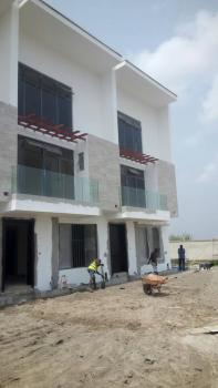 a Tastefully Built 4 Bedroom Terrace with Bq and Pool, Off Admiralty House /road, Lekki Phase 1, Lekki, Lagos, Terraced Duplex for Sale