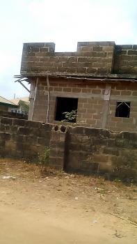 Twin 12 Bedrooms Uncompleted Storey Building, Elebu, Off Akala Expressway, Ibadan, Oyo, Block of Flats for Sale