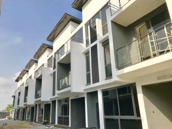 Five Bedroom Terrace with a Room Bq, Lekki Phase 1, Lekki, Lagos, Terraced Duplex for Rent