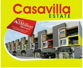 550sqm Land with C of O Na Casavilla Estate Magboro for 3m, Casavilla Estate, Gasline, Lagos- Ibadan Expressway, Magboro, Ogun, Residential Land for Sale