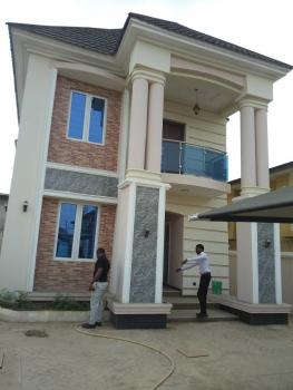 Brand New 4 Bedroom Detached Duplex Attached with Room Bq, Wamon Taofeek Street, Abule Egba, Agege, Lagos, Detached Duplex for Sale