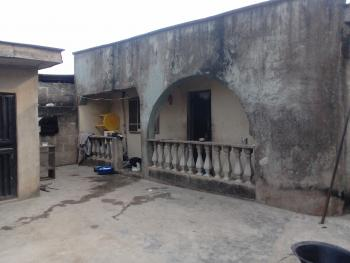 Half Plot of Land with Completed 3 Bedroom, 4 Rooms, Fenced with Gate, Ojokoro Road, Off Isawo Road, Agric, Ikorodu, Lagos, Detached Bungalow for Sale