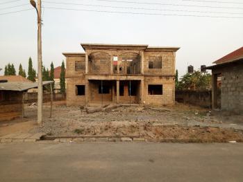 Duplex Carcass with Bq, Lokogoma District, Abuja, Detached Duplex for Sale