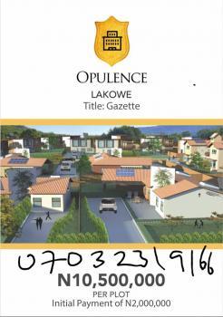 Opulence Estate, Awoyaya, Ibeju Lekki, Lagos, Residential Land for Sale