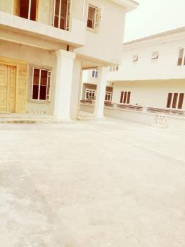 a Lovely Newly Built 4 Bedroom Duplex with a Room Bq., Victory Park Estate, Osapa, Lekki, Lagos, Semi-detached Duplex for Sale