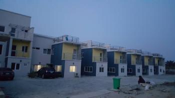 a Brand New 4 Bedroom Terrace with Boys Quarters, Ocean Bay Estate, Lafiaji, Lekki, Lagos, Terraced Duplex for Sale