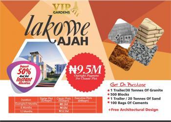 Vip Gardens, Vip Gardens, Right Inside The Golf Course, Eputu, Ibeju Lekki, Lagos, Residential Land for Sale