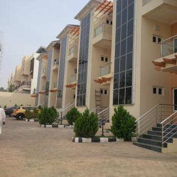 Exquisite & Well Finished 6 Units, 4 Bedrooms Serviced Terrace Duplex with Bq, Off Edwin Clark Way, Guzape District, Abuja, Terraced Duplex for Rent
