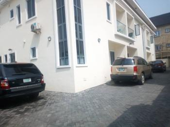 Serviced Well Maintained 4 Bedroom Terrace House with a Room Bq, Osapa, Lekki, Lagos, Terraced Duplex for Rent