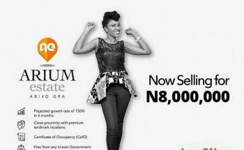 Arium Estate, Abijo G.r.a, Abijo, Lekki, Lagos, Residential Land for Sale