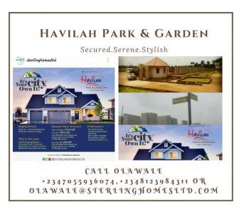 Lands, Havilah Parks & Gardens, Mowe Ofada, Ogun, Residential Land for Sale
