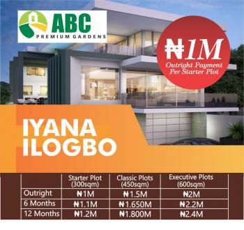 Own a Plot of Land, Off Araromi -elebute Road, Sango Ota, Ogun, Residential Land for Sale