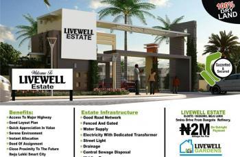Livewell Estate, Olooto, Ogogoro, Ibeju Lekki, Lagos, Mixed-use Land for Sale